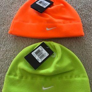 2 New Nike Arctic Fleece Beanies